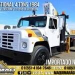 Foto Grua Articulada 4 Tons Camion International 1984