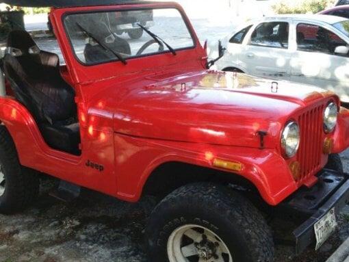 Foto Jeep CJ5 1979 motor V6