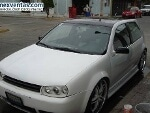 Foto GTI con rodado modificado