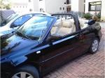 Foto Muy lindo volkswagen golf convertible negro