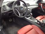 Foto BMW 135 i, Coupé 2010 gris, asientos en piel...
