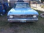 Foto Ford Falcon Azul 1964