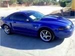 Foto Mustang sonic blue