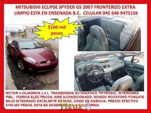 Foto Mitsubischi eclipse convertible spyder piel...