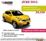 Foto En Daosa Acueducto estrena tu Nissan Juke 2015