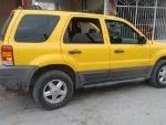 Foto Camioneta Ford Escape Color Amarillo Exlente...