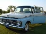 Foto Clásica ford f-100 custom cab 1964 espectacular!