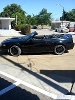 Foto Ford Mustang Convertible 2000 negro con rin 20