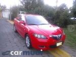 Foto Mazda 3, Color Rojo, 2007, Distrito Federal