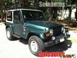 Foto Jeep wrangler 3p sahara 2000
