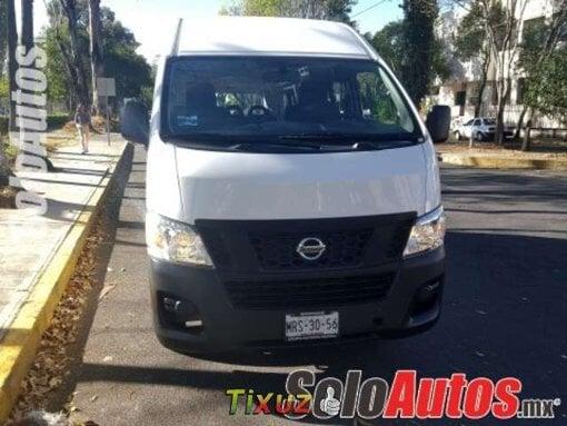 Foto Nissan nv350 urvan 4p 2.5 panel ventanas tm 2014