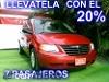 Foto Chrysler Voyager 2008, Color Rojo, Jalisco