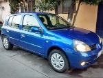 Foto Clio azul extremo seminuevo