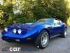 Foto Chevrolet Corvette 1975, color Azul, Zermeño,...