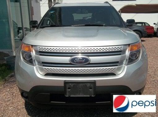 Foto Pepsi vende varios ford explorer