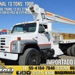 Foto Grua Titan 13 Tons Camion International 1988...