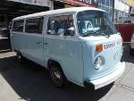Foto Volkswagen Combi Azul 1987