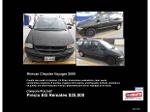 Foto Minivan Chrysler Voyager 2000 - EG Remates