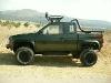 Foto Pickup nissan 94 4x4 recortada tipo jeep