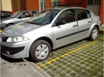 Foto Renault megane 2009 gris con seguro por 6 meses