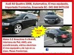 Foto Audi a6 quattro awd 2008 fronterizo ensenada bc...