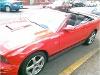 Foto Mustang convertible rojo v6