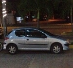 Foto Peugeot 206 Moonlight fact original