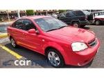 Foto Chevrolet Optra 2007, Color Rojo, Distrito Federal