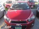 Foto Chevrolet Sonic 2012, Color Rojo, Guanajuato
