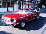 Foto Increible! Mustang 1966