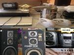 Foto Bocinas, stereo sony, dvd, tv, tostadoras,...