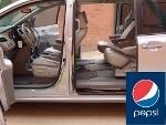 Foto Pepsicola vende toyota sienna