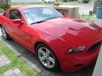 Foto De oportunidad. Flamante Mustang GT v6 2010 Rojo.