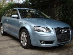 Foto Audi A3 Atracttion 1.8 Azul Cobalto, 2 Puertas
