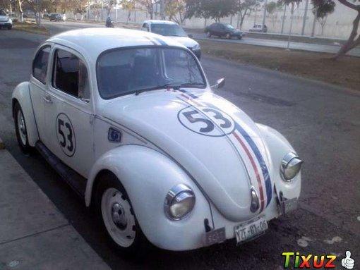 Foto Volkswagen Escarabajo Vocho Herbie 1990