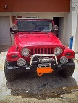 Foto Jeep Wrangler 4 x 4 2005 ROJO FLAMA