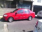 Foto Aveo Rojo 4 Puertas Paq. C