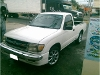 Foto Toyota tacoma blanca