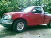 Foto Pick up Ford roja F 150 Nacional 07