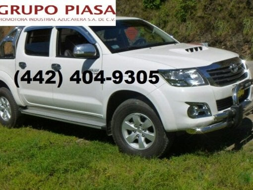 Foto Toyota hilux 4 cilindros