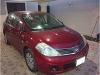 Foto Nissan Tiida rojo 2007, 130000km, 4 puertas,
