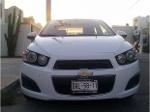 Foto Chevrolet Sonic LT Std 2012 Blanco; Tablero Bitono