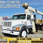 Foto Grua Titan 15 Tons Camion International 2001...