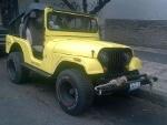 Foto Jeep placas de auto antiguo de
