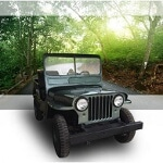 Foto Jeep Willys, modelo 1945