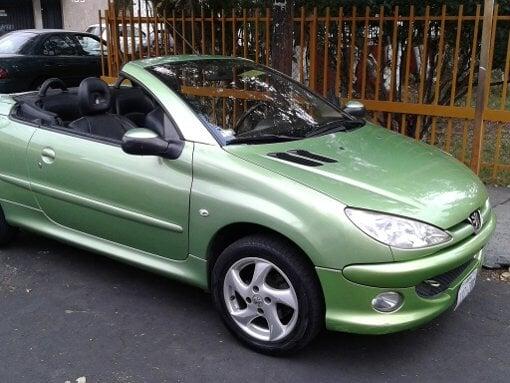 Foto Peugeot cc 206 mod 2005