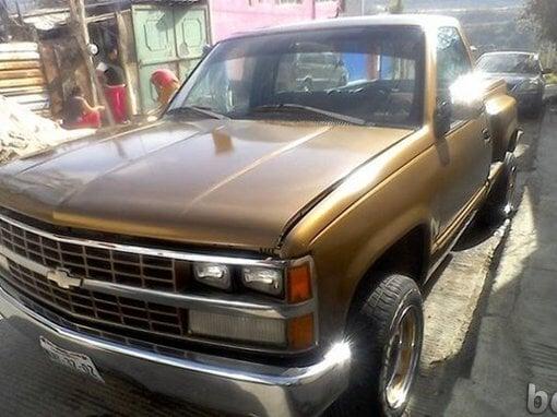 Foto 1990 Chevrolet Silverado, DF y Zona Metro,...