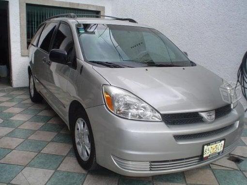 Foto Toyota siena le en México