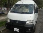 Foto Nissan urvan 4 cil. Toldo alto pasajeros en México
