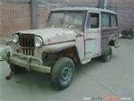 Foto Willys Panel Wagon Vagoneta 1952